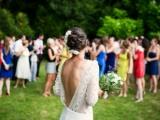 Почетные подружки невесты на свадебной церемонии